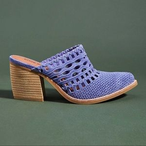 NWT Jeffrey Campbell Favela Perforated Mules